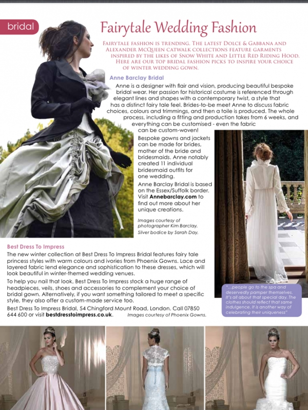 'Absolute' Bridal Magazine article